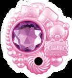 Piedra Linkle Mofurun y galletas (rosa)