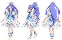 Cure Diamond konzept Toei
