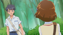 Mayumi and her cursh confront each other
