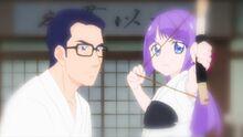 STPC41 Fuyuki teaching Madoka archery