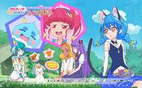 Pretty Cure Online STPC wall star 32 1 S