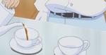 Seiji pouring tea