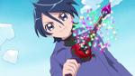 17KKPCALM17 Lio holding Ichika's KiraKiraru
