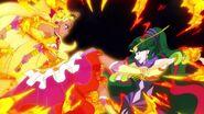 Cure Soleil peleando contra Ofiuco