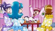 Megumi gritando