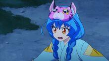 STPC25 Yuni gets ready to fight Tenjo