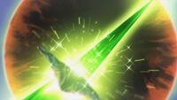 STPC32 A green light hits the dead planet