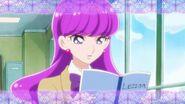Yukari en clase de inglés