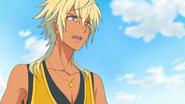 Charaleet decepcionado después de que su Oshimaida fuera derrotado por Yell