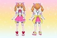 Perfiles de Cure Emiru (Toei Animation)