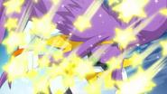 Zetsuborg impactado por el Galaxy Chorus