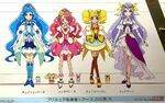 Healin Good Precure height chart