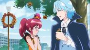 Megumi se sonroja por tal acto