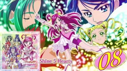 Shine 5 Hearts