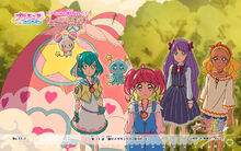 Pretty Cure Online STPC wall star 11 1 S
