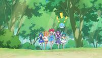 STPC32 The girls chase after Fuwa