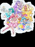 Star Twinkle Five Cures Visual Toei