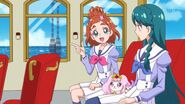 Haruka en el Bus