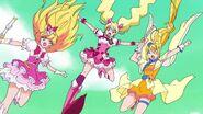 Triple Pretty Cure Kick Part 1