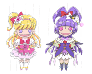 Marionetas de Miracle y Magical