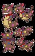 Perfiles de Cookacookie en su segunda forma