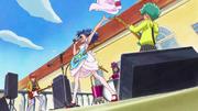 KKPCALM 14 Aoi throwing her skirt
