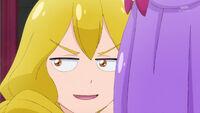 STPC41 Sakurako whispers in Madoka's ear