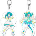Cure Milky plastic keychain
