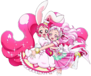 Cure Whip y Cure Yell