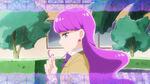 KKPCALM05 Yukari twirling her hair
