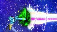 STPC31 Garuouga manages to punch through Rainbow Splash