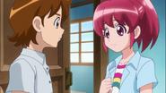 Seiji y Megumi hablando del amor de yuko