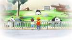 KKPCALM09 Flashback Midori Tatsumi watching pandas