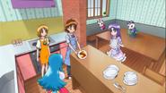 Seiji hace el almuerzo
