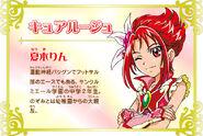 Cartel de Cure Rouge en Pretty Cure All Stars New Stage 3