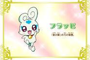 Cartel de Flappy en Pretty Cure All Stars New Stage 3