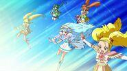Equipo de Pretty Cure que se especializa en defensa