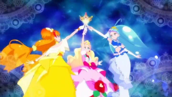Go! Princess Pretty Cure New Mode Elegant (Rose, Ice, Luna) and Trinity Lumiere (All versions)-0