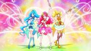 HGPC Start Pretty Cure Operation Group pose