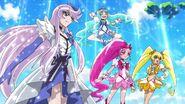 Las HeartCatch Pretty Cure en HUGtto