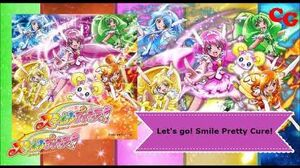 Let's go! Smile Pretty Cure!