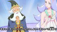 30. El Profesor Isaac alagando a Loretta por su hermosa voz