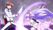 Fortune rompe la espada de Phantom