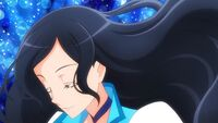 Operation Chiyu's hair starts to grow longer