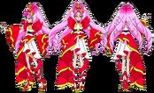 Perfiles de Cure Scarlet