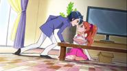 Rio enfadado con la actitud de Ichika