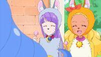STPC37 Madoka and Elena smile at Yuni and Prunce