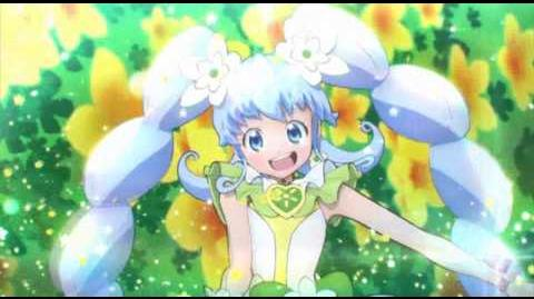 Happiness Charge Precure Cure Princess Macadamia Hula Dance Hawaiian alohaloway