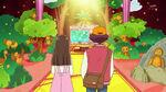 KKPCALM09 Tatsumi and Midori entering the Patisserie