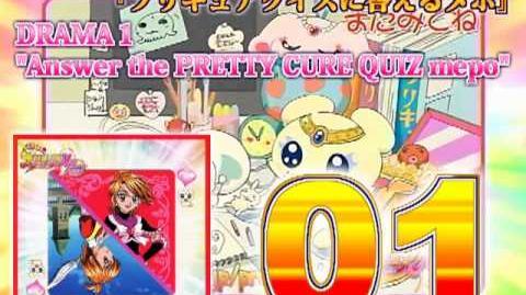 Futari wa Precure Max Heart Character Mini Album Nagisa Track01